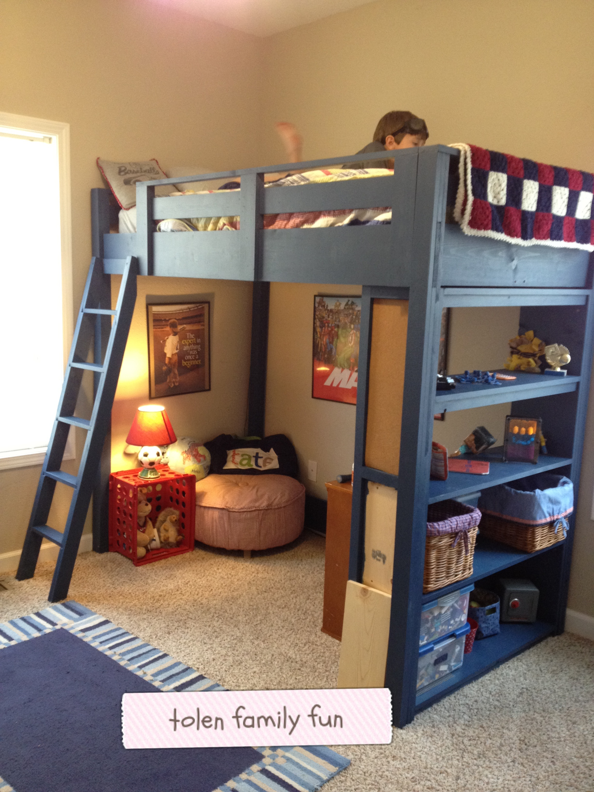 ana white 2010 furniture plans loft bed
