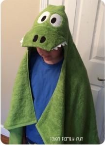 croc towel